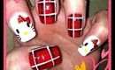 ~ Hello Kitty Red Plaid Design ~