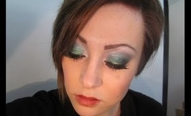 Electric Glowstick: St  Patrick's Day Look