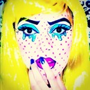 halloween look Pop Art