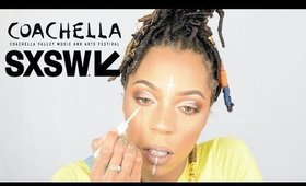 coachella / festival makeup tutorial perfect for beginners!