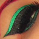 Glittery Green