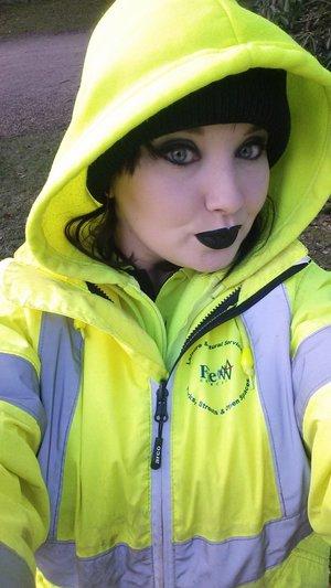 Jeffree Star Weirdo Lipstick!!! rockin it at work