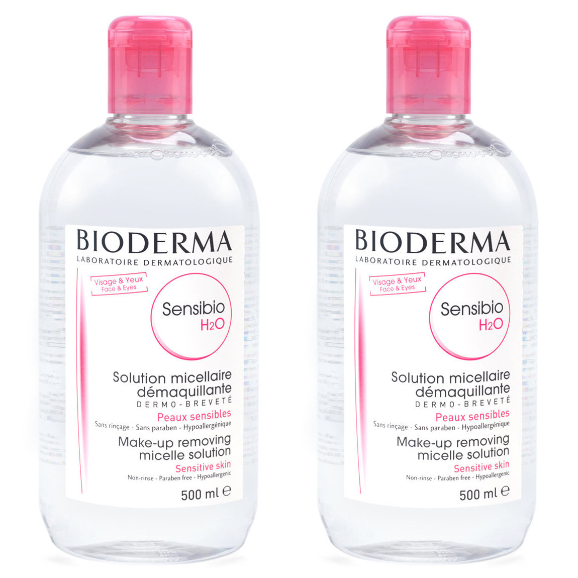 Buy two 500-ml Bioderma Sensibio H2O for $19.90 (Value of $29.80)