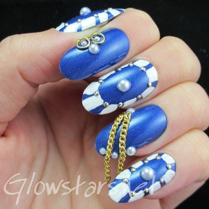 Read the blog post at http://glowstars.net/lacquer-obsession/2014/01/i-kneel-before-her-beneath-this-frozen-sky/