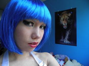 Halloween make-up look