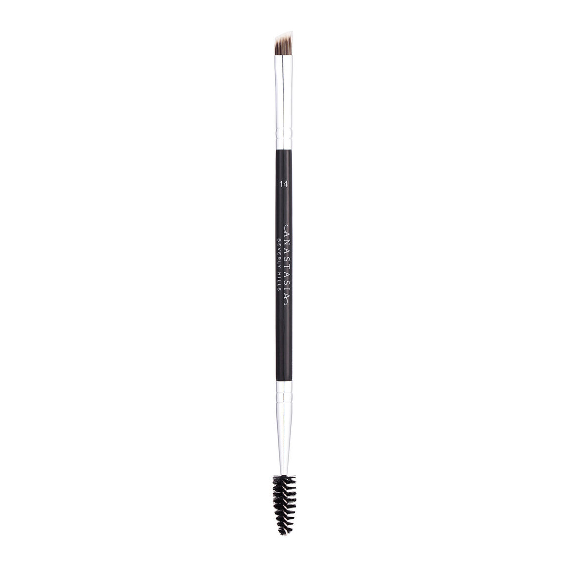 Anastasia Beverly Hills Brush 14 Dual-Ended Firm Detail Brush product swatch.