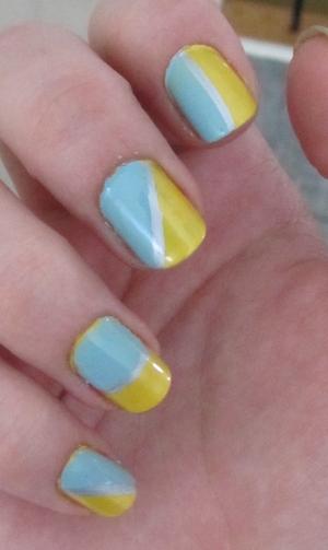 NOTD;; Kinetic Sunshine! ♥♥  Blog post here: http://rivuletsbeauty.blogspot.com/2012/03/notd-kinetic-sunshine.html