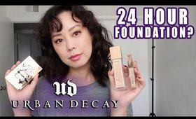 Urban Decay Stay Naked Foundation, Concealer, and Face Palette All Day Wear Test/ First Impressions