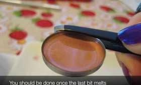 Tutorial: Depotting/De-tubing Lipstick