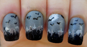http://www.thepolishedmommy.com/2012/10/spooky-graveyard.html