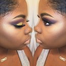 Purple & Gold Cut Crease!