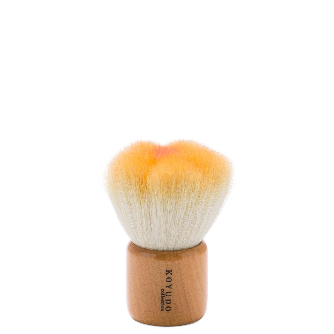 KOYUDO Innovative Series F002 Powder/Blush Brush - Orange product swatch.