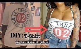 t-shirt to tank top tutorial