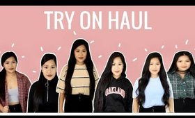 Try On Haul January 2018 | makeupbyritz