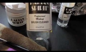 First Impression - Parian Spirit Brush Cleaner