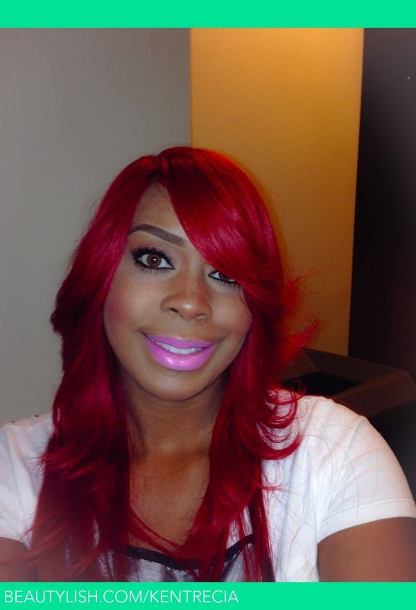 Ruby Red Hair Color Kentrecia D S Kentrecia Photo
