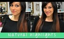 How to Add Natural Highlights with Clip On Hair Extensions | Instant Beauty ♡