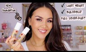NEW Favorite Drugstore Foundation?! JCAT BEAUTY Skinsurance