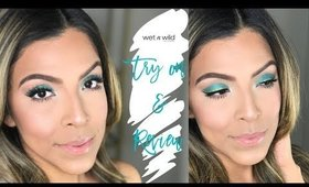 WET'N'WILD TRY ON & REVIEW | EMILY HERNANDEZ | CRUELTY-FREE BEAUTY