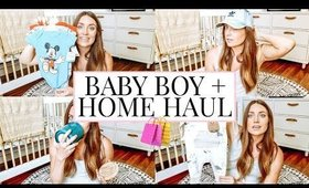 MARSHALLS HAUL: BABY BOY CLOTHES & HOME ITEMS | Kendra Atkins