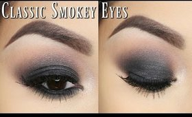 CLASSIC SMOKEY EYE + GIVEAWAY!