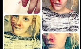 Dead Person Halloween Tutorial🎃| BeautyAvecEmie