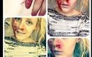 Dead Person Halloween Tutorial🎃  BeautyAvecEmie