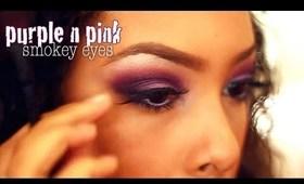Purple/Pink Smokey Eyes Tutorial