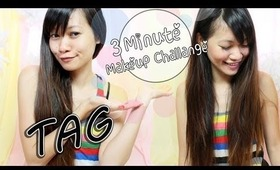 ♡ Tag: 3 Minute Makeup Challenge