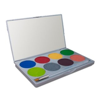 Mehron E.Y.E Powder 8-color Palette