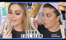 0 - 100 FULL GLAM baby! ⚡ get ready with me for netflix & chill lol