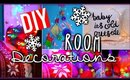 DIY Holiday Room Decorations + Decorate for Christmas!