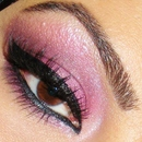 Closeup of my Purple Haze look!