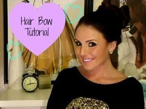 Easy Hair Bow Tutorial