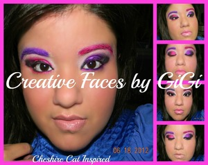 Inspired By the Cheshire Cat from Alice in Wonderland