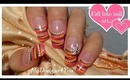 ABSTRACT SPRING, NAIL ART FOR BEGINNERS - Floral French Tip