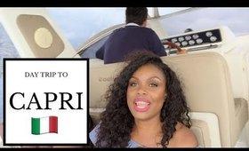 CAPRI (Island Hopping off The Amalfi Coast)!   Italy Travel Vlog *Part 2*