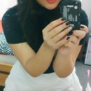 Favorite white skirt..