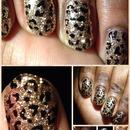 Glittery cheetah
