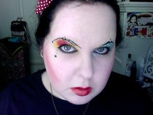 Amanda palmer make-up