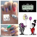 beetle juice nails