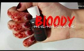 BLOODY MANICURE TUTORIAL | sfx