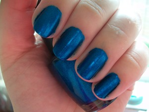 OPI Swimsuit...Nailed It  To read my review of the polish please visit my blog:  www.mazmakeup.blogspot.com