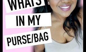 WHATS IN MY BAG/WHATS IN MY PURSE