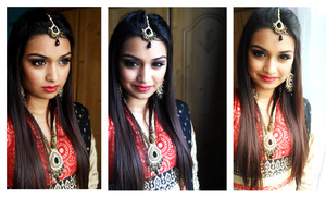 Focusing on an indian/bangladeshi look