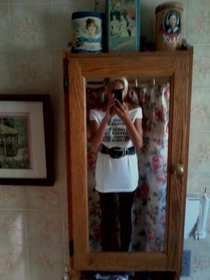 DIY Tshirt Dress.