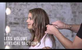 Sectioning Hair Tips by TRESemmé Style Studio