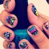 Funny nails.