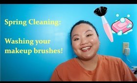 Spring Cleaning: Washing Your Makeup Brushes | Amy Yang