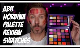 ABH NORVINA PALETTE REVIEW/SWATCHES!